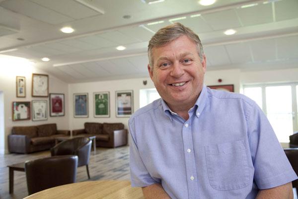 Graham Callard, Chairman of Crowborough Rugby Club (Image courtesy of Black Cat Acoustics)