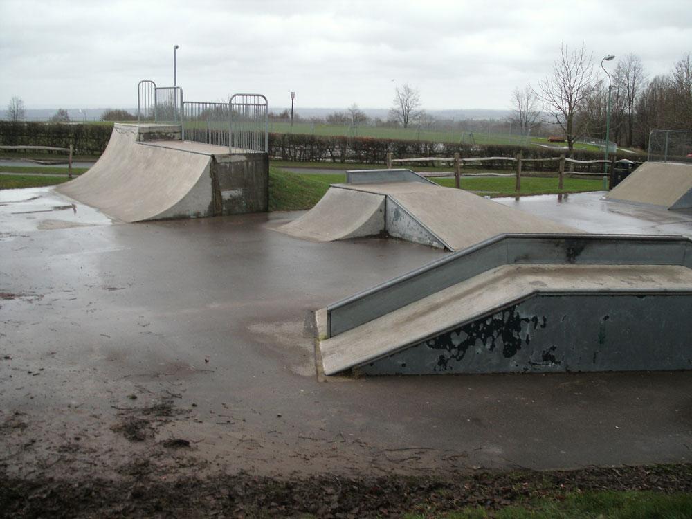 Existing Skatepark at Goldsmiths