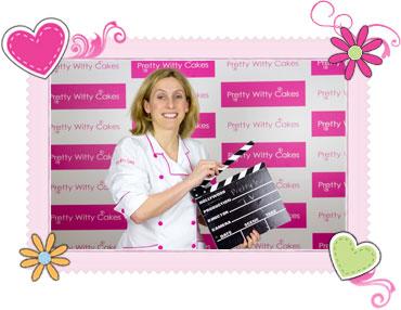 Suzi Witt founder of Pretty Witty Cakes