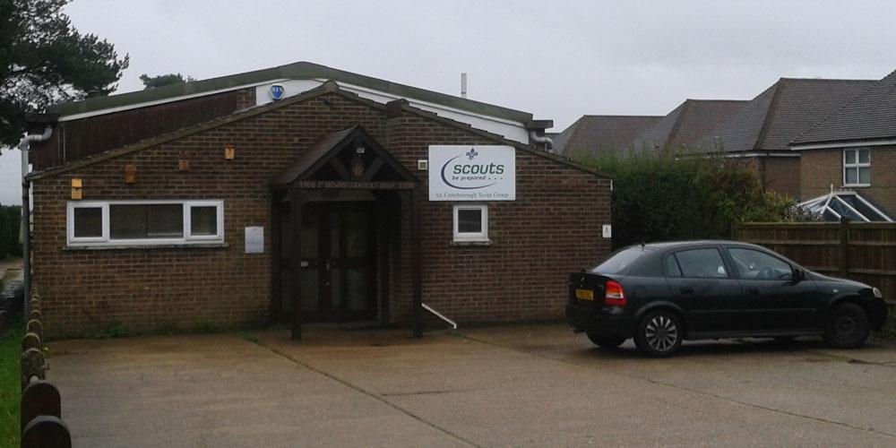 1st Crowborough Scouts headquarters, Whitehill Road, Crowborough