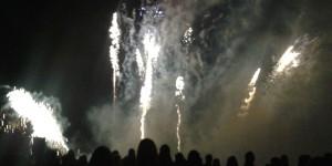 Crowborough Fireworks 5 November 2014 goldsmiths Recreation Ground