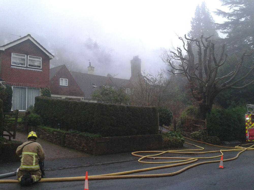 Fire-Rannock-Road