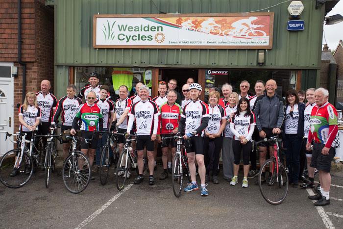 Cyclists-twinning