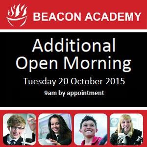 Beacon Academy Open Day Tuesday 20th October 2015 Crowborough