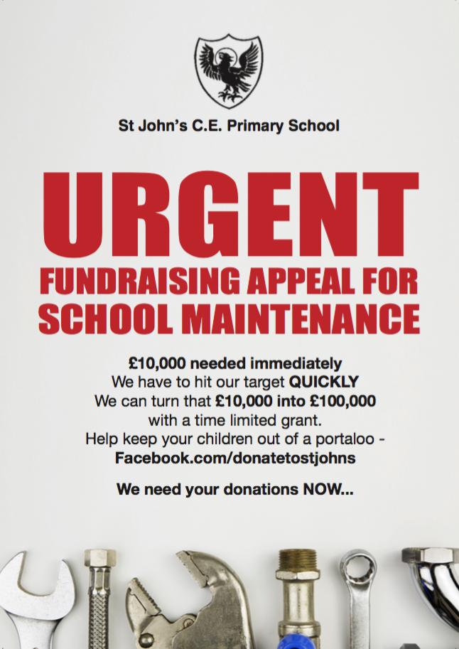 Poster St John's Portaloo