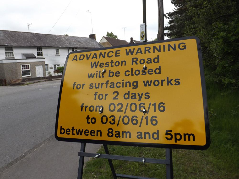 Weston Road Crowborough