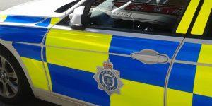Sussex Police car