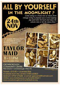 Live Music & Bar @ Crowborough Community Centre | England | United Kingdom