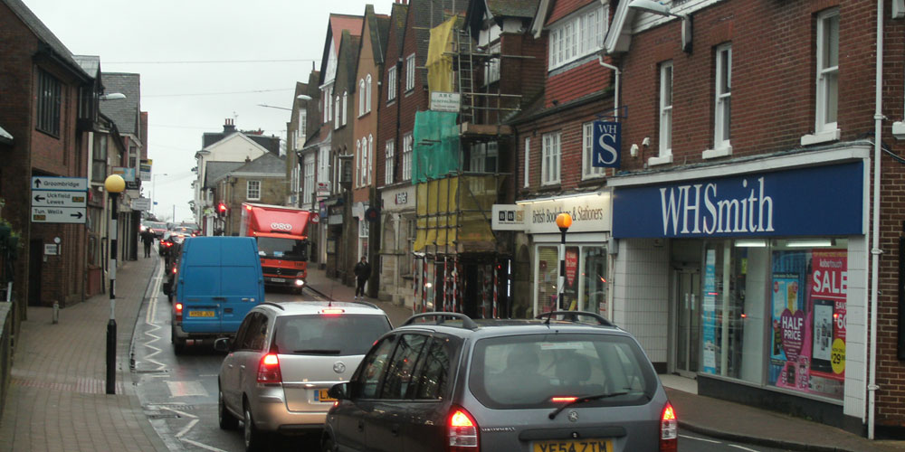 Croft Road could be pedestrianised to get more people walking & cycling