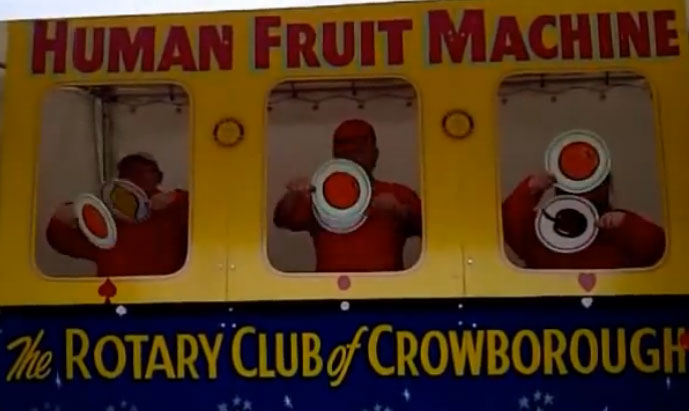 Rotary Club Fruit Machine