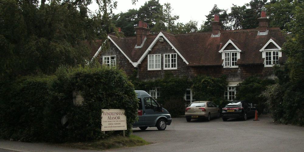 Fire at Windlesham Manor - Crowborough Life