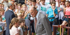 HRH Duke of Edinburgh Bowles Outdoor Centre Eridge Patron