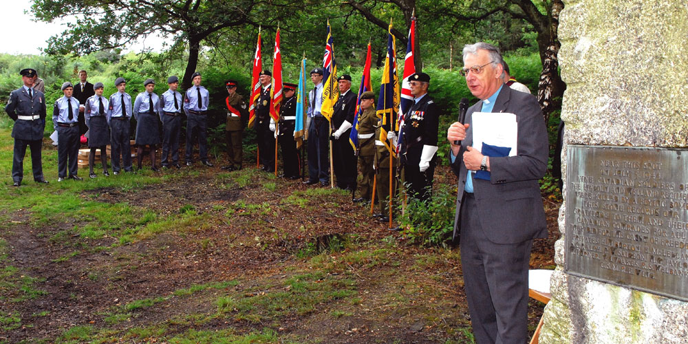 Service led by Canon Andrew Cornes to mark the 70th anniversary