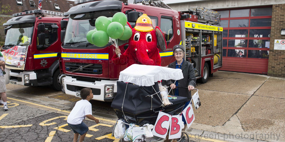 Crowborough Fire Station Open Day in aid of Crowborough Birthing Centre