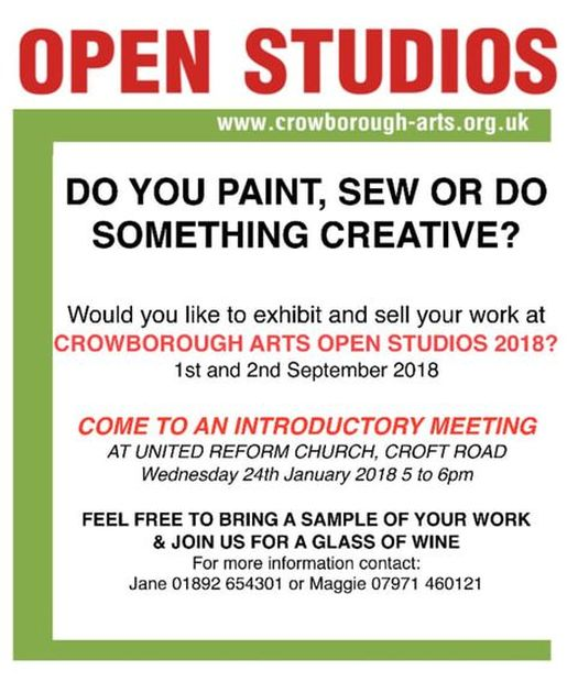 Crowborough Arts Open Studios 2018