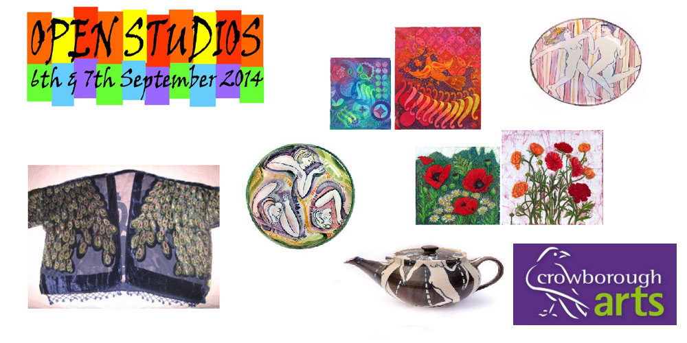 Open Studios 6th and 7th September 2014 organised by Crowborough Arts