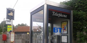 Phone Box set for closure near the Boar's head in Crowborough