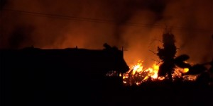 Barn Fire Town Row Rotherfield Wednesday 11th November 2014