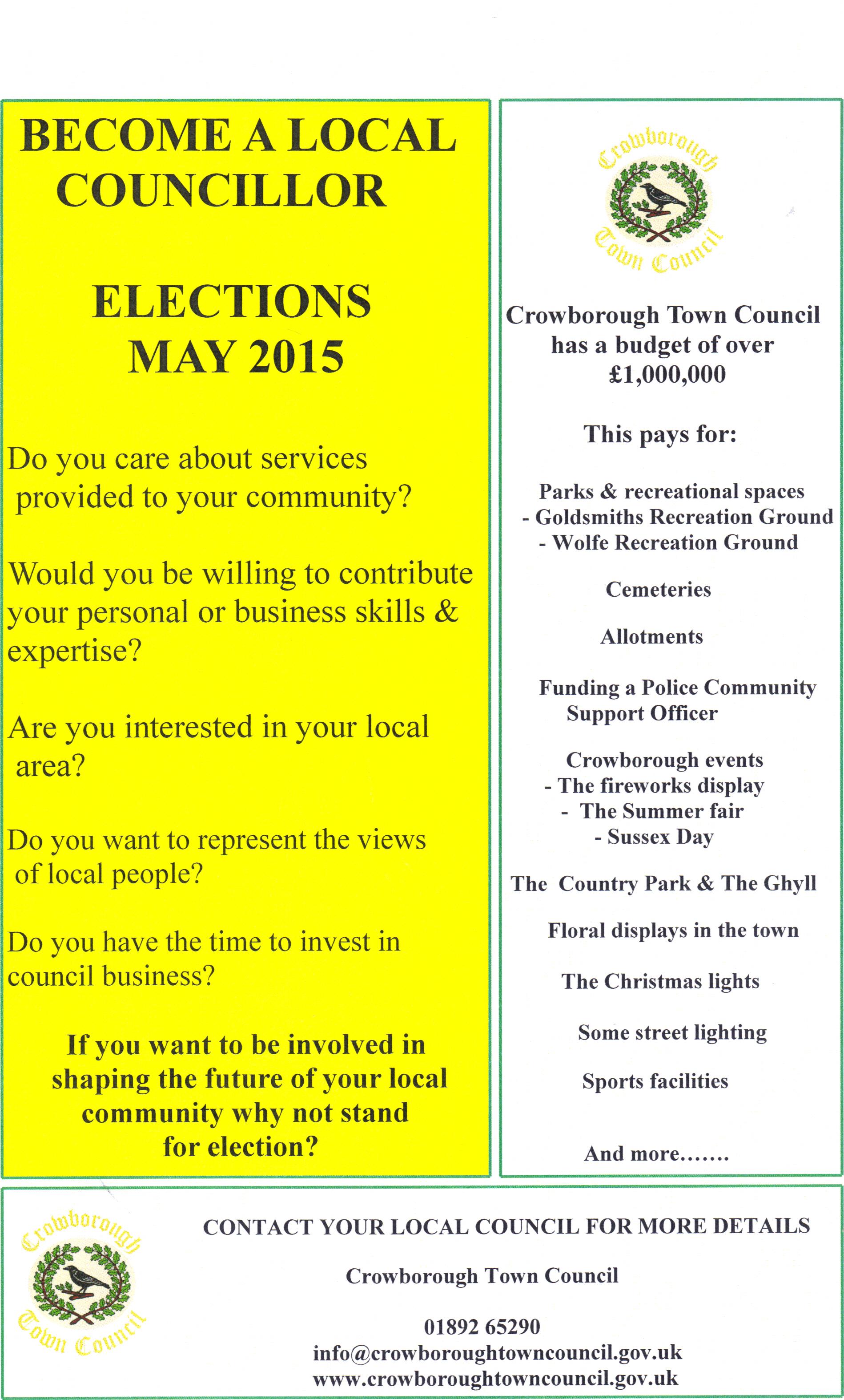 Become a Town Councillor
