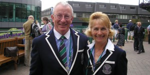Jim Hollins Tennis umpire Wealden Councillor St Johns