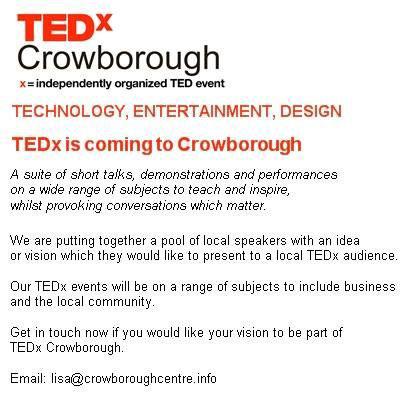 TEDx Crowborough TED Talks