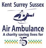 Air Ambulance 25 years logo