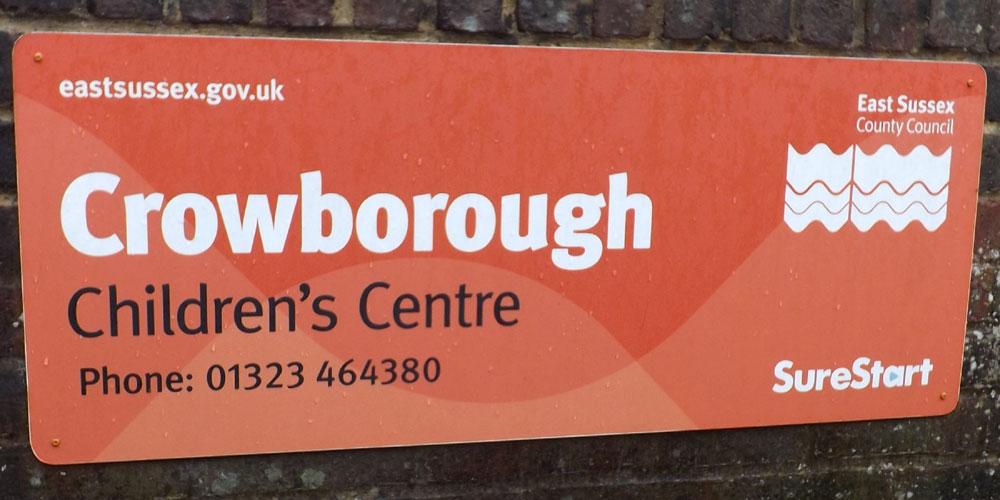 """Crowborough Children's Centre to be """"de-designated"""""""