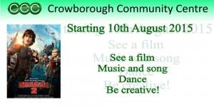 Children's Activity Week Crowborough Community Centre 10th August 2015