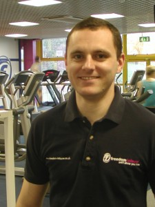 Steve Collins, Freedom Leisure Fitness Manager