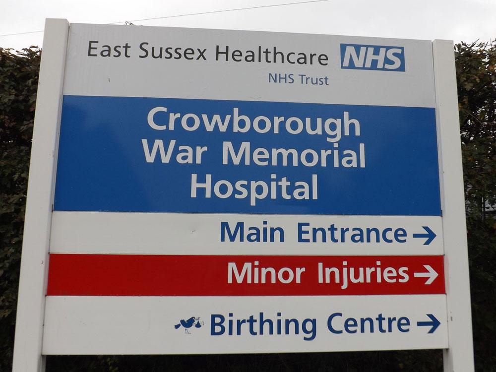 Crowborough Minor Injuries Unit to reopen