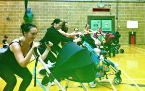 Buggy Power classes Thursdays at Crowborough Leisure Centre