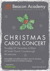 Beacon Academy Christmas Carol Concert @ All Saints Church | Crowborough | United Kingdom