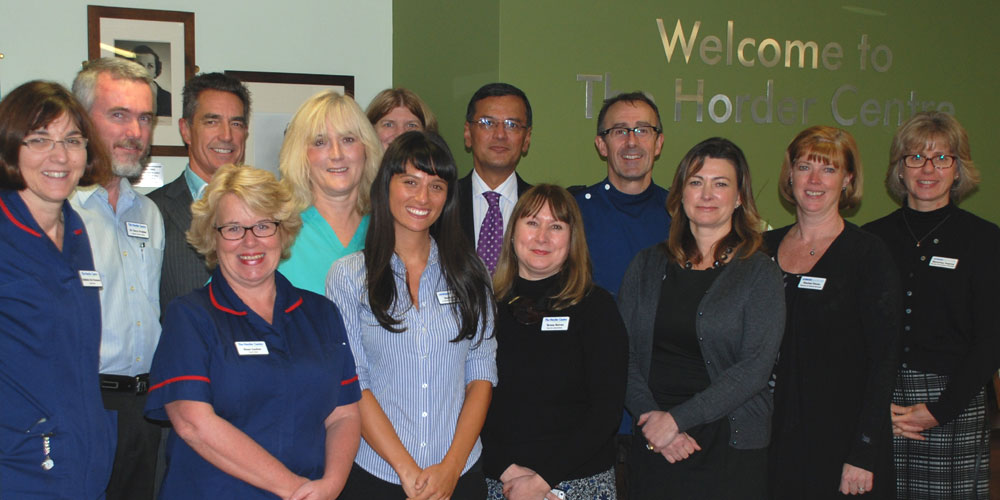 Team at Horder Centre awarded exemplar status for their work to reduce the risk of venous blood clots in patients