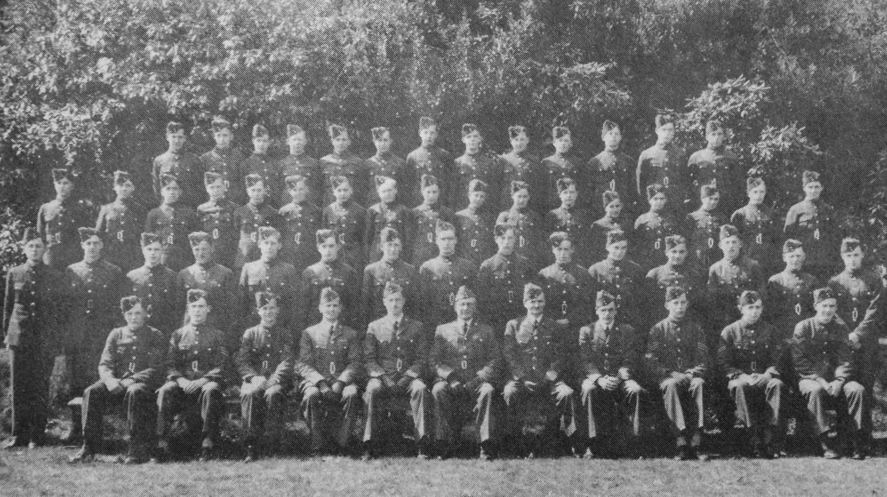 'B' Flight 1414 Squadron taken in 1942. This is the earliest known photograph of our Squadron.