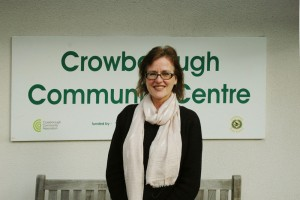 Photo Lorna Dowson-Collins, new Manager at Crowborough Community Centre