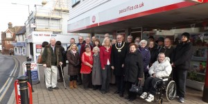 Opening of new look Post Office in Crowborough