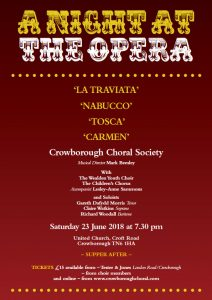 A Night at the Opera @ United Church | England | United Kingdom