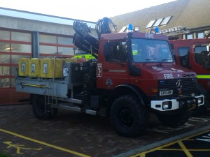 Crowborough Animal Rescue Unit purpose-built Mercedes Unimog 4 x 4 off-road appliance