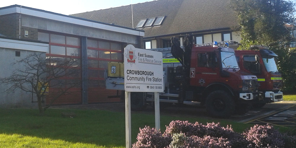 Crowborough Community Fire Station Beacon Road