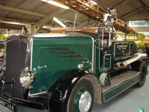 Crowborough Town Council's Frank Humphry Fire Engine on display at Bentley Wildfoul and Motor Museum