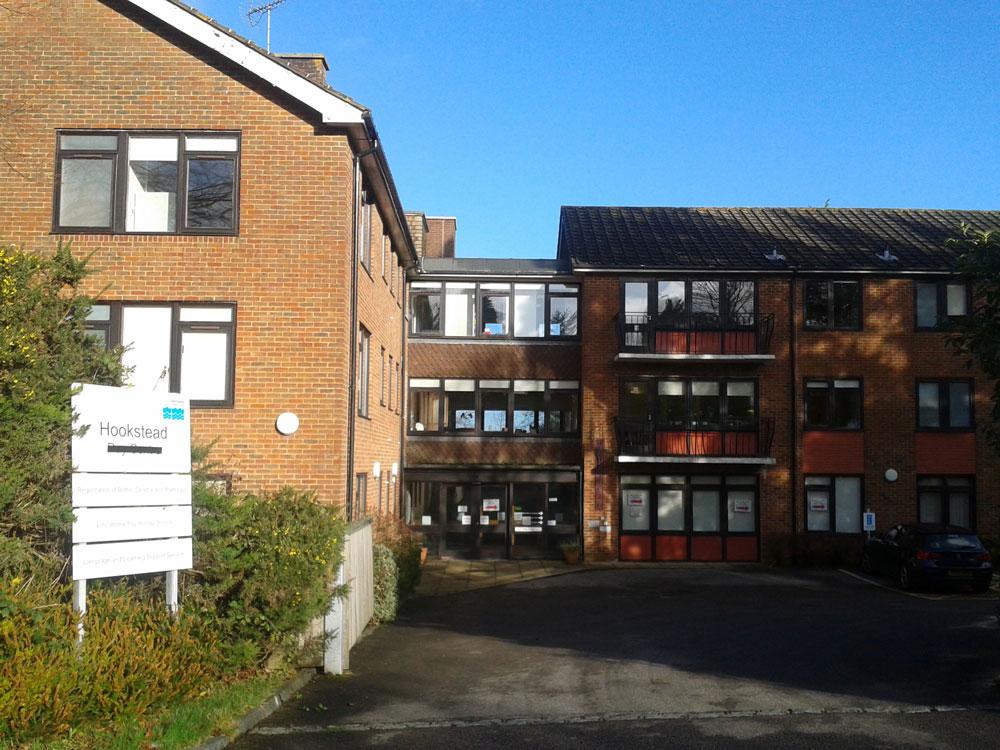 Hookstead Centre in Goldsmiths Avenue in Crowborough