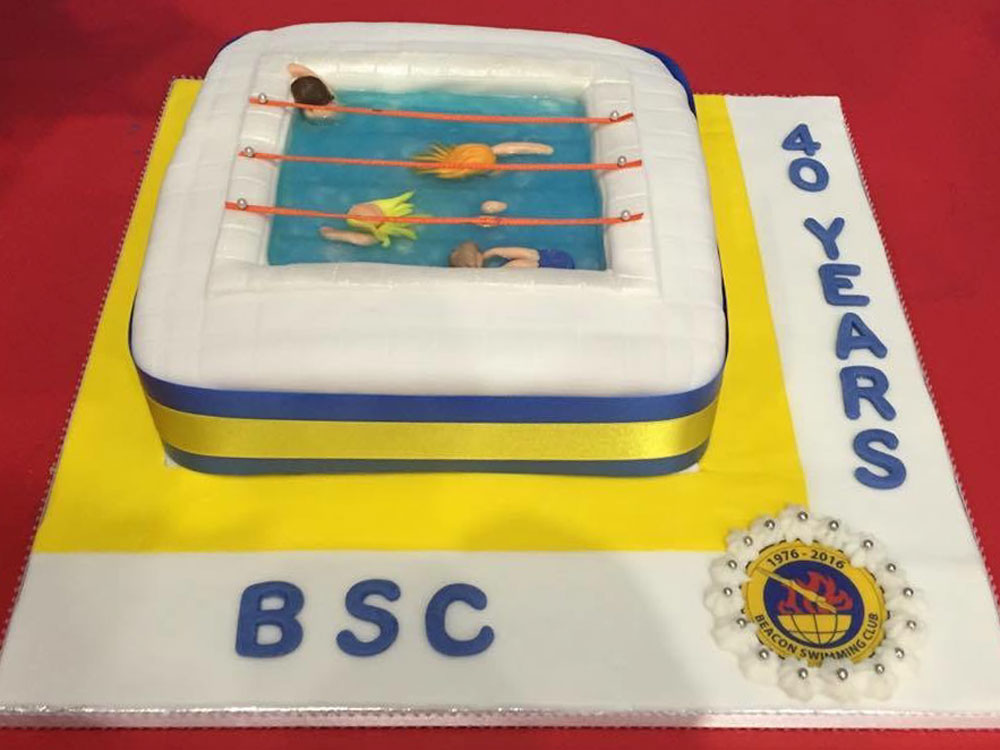 Beacon Swimming Club 40th anniversary Crowborough