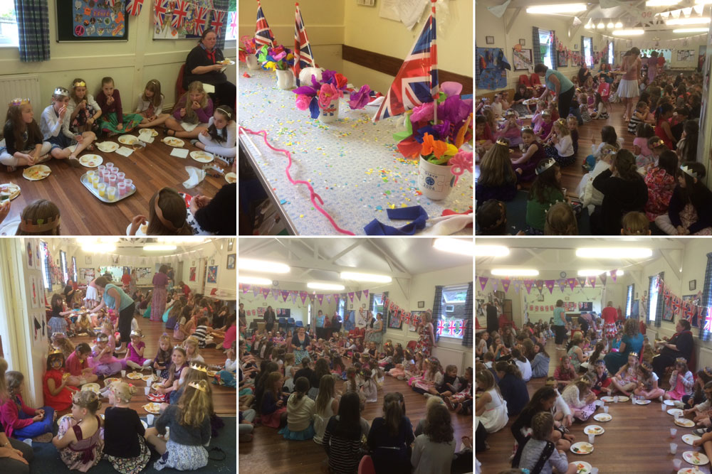 Crowborough Guides Celebrate Her Majesty S 90th With A Tea