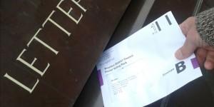 Postal Vote Crowborough Sorting Office