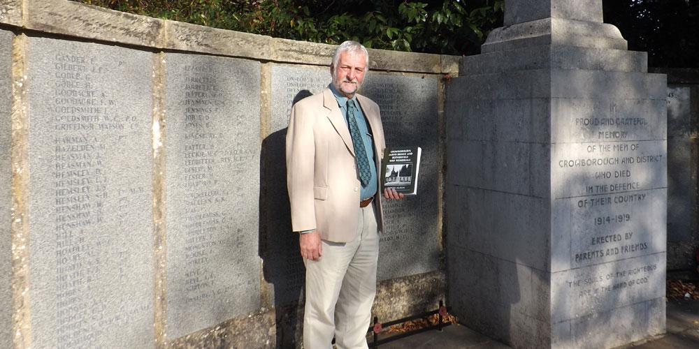 Nigel Allison Crowborough War Memorial