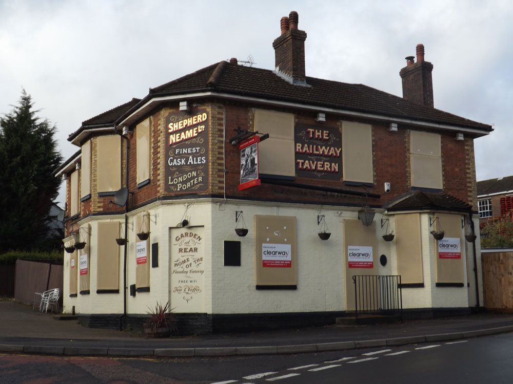 Railway Tavern (formerly Welcome Stranger) Crowborough Hill