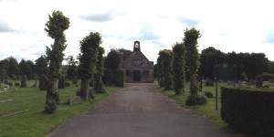Herne Road Cemetery St Thomas' Chapel Crowborough
