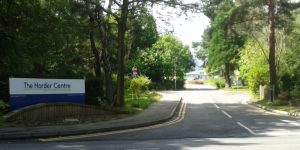 Entrance to the Horder Centre orthopaedic hospital near Crowborough (taken July 2017)