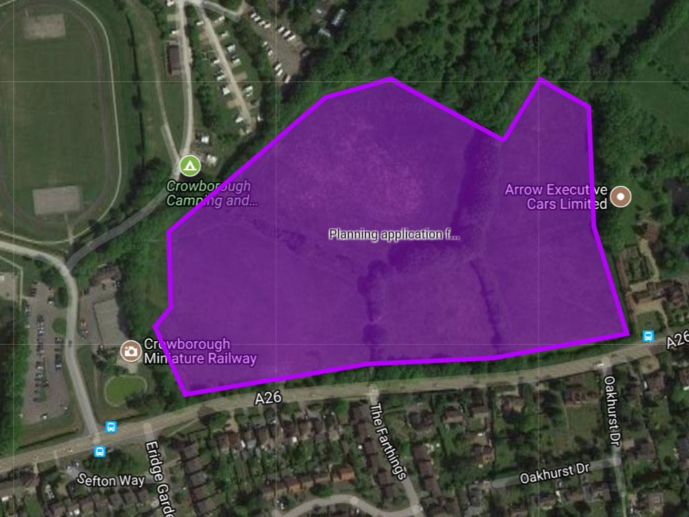 Eridge Road application refused