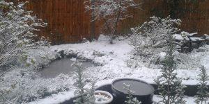 snow weather crowborough sussex monday 11th december 2017